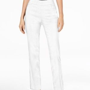 JM Collection Petite Tummy Control Pull on pants